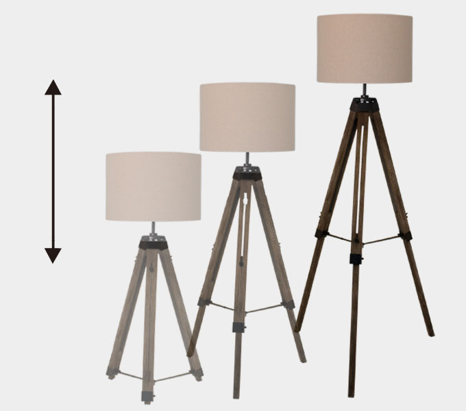 Vieri nova floor lamp 高さ調整