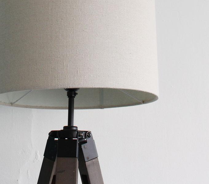 Vieri nova floor lamp ベージュ シェード